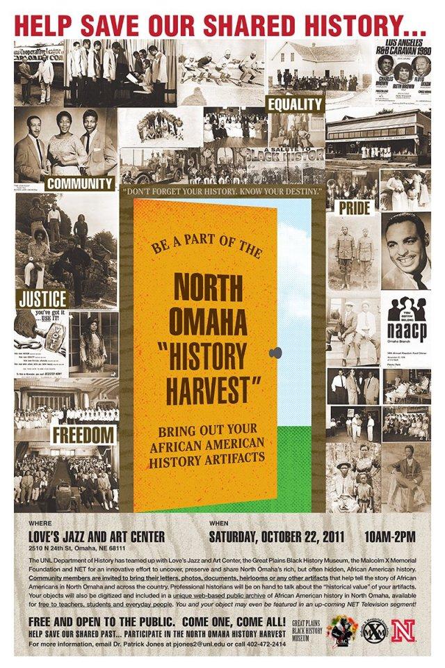 North Omaha History Harvest flyer