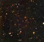 Hubble ultra deep field scan