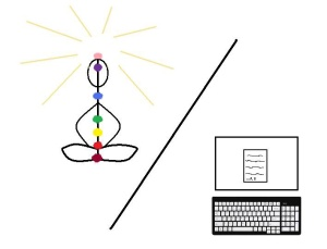 Two ways to Zen, an e-doodle